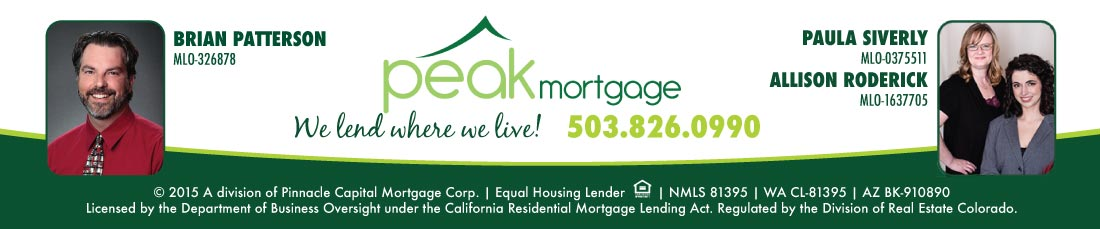 Peak Mortgage - Sandy Oregon