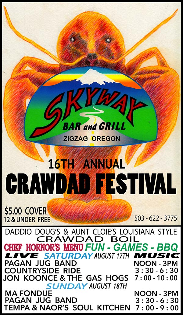 SkyWay Crawdad Festival 2019