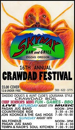 Skyway Craw dad Festival 2019