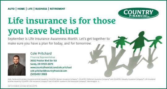 Cole Pritchard-Life Insurance Ad